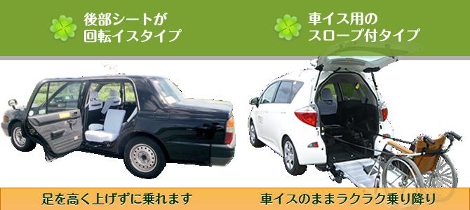 ケア輸送サービスご利用車両